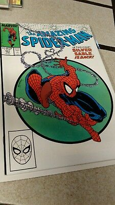 No Reserve Auction - The Amazing Spider-Man #301 1988 - Deliver by Xmas