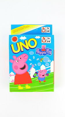 UNO Card Peppa Pig Theme - Standard 108 UNO Playing Cards Game