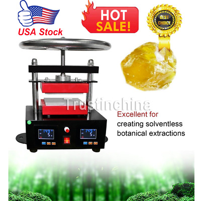 Electric Rosin Press Machine Stamper Manual Operation Double Plates Heating PY