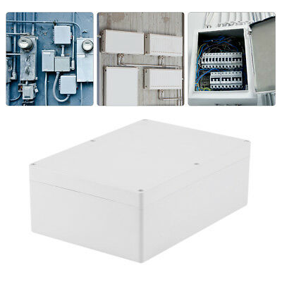 Water-resistant White Plastic Enclosure Project Case DIY Junction Box