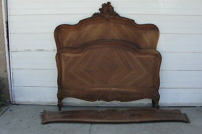 Antique 1850 - 1914 Headboard and footboard & side rails.