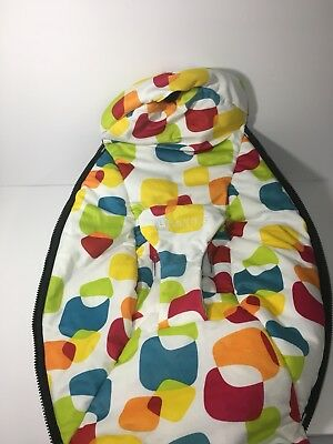 4moms MamaRoo Replacement Part Seat SPOTTED Colorful Fabric  **VERY RARE**