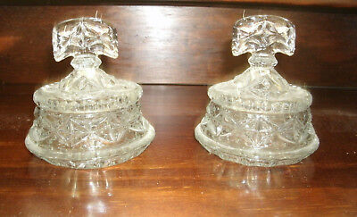 Art Deco Glass Dressing Table pieces