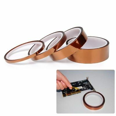 5/10/20mm 100ft Heat Resistant High Temperature Polyimide Kapton Tape