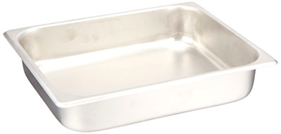 Steam Table Pans Winco Size Pan 2.5 Inch Stainless Steel Regular Standard Weight