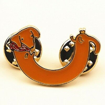 Red Dachshund Lapel / Hat Pin