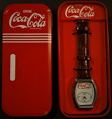 Coca-Cola Retro Quartz Movement Watch