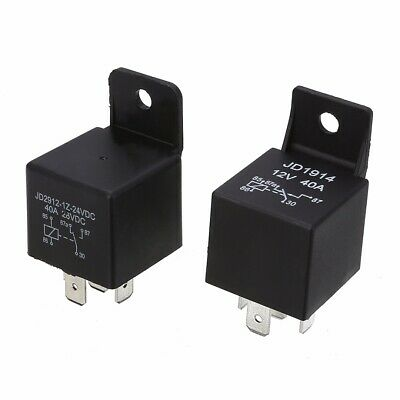 DC 12V/24V Volt  40A 5 Pin Auto Car Motorcycle ON/OFF Split Relay Normally Open