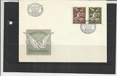 Portugal 1962 St Gabriel Commemoration First Day Cover Unaddressed NICE!!!!