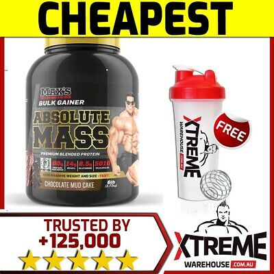 Max's Absolute Mass 6Lb // Super Maxs Serious Size Gainer Get Supersize Fast $