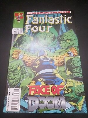 Fantastic Four #380 (Sep 1993, Marvel)   White Pages!! NM! Free Shipping in US