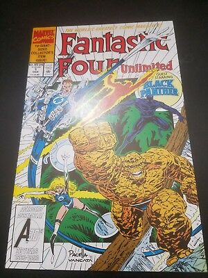 Fantastic Four Unlimited #1 (Mar 1993, Marvel) NM!! Free Shipping in US