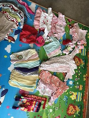 Baby Girl Clothes Bulk 0 - 6 Months + More