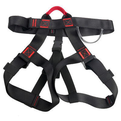 Mountain Downhill Rock Climbing Belt Safety Tool Harness Seat Rappelling Outdoor