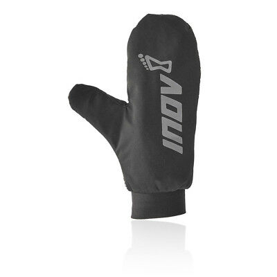 Inov8 Unisex Extreme Thermo Mittens Black Sports Outdoors Running Warm