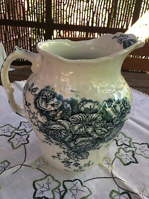 ANTIQUE CHINA WATER JUG/PITCHER (Cash Payment preferred)