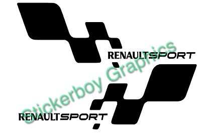 Renault Sport F1 Team Sill  Stickers Megane 225 Turbo 182 172 Cup 400mm Pair