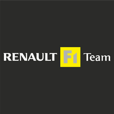 Renault F1 Team Sunstrip Sport Sticker Megane 225 Turbo 182 172 Cup Decal 1000mm