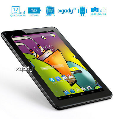 Xgody 9 Zoll Android Tablet Pc Quad Core A33 16Gb Dual Kamera Bluetooth Wlan A7