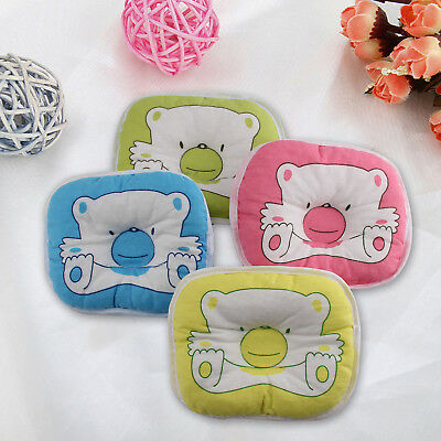 Fashion Bear Pattern Pillow Newborn Infant Baby Support Cushion Pad Prevent Flat