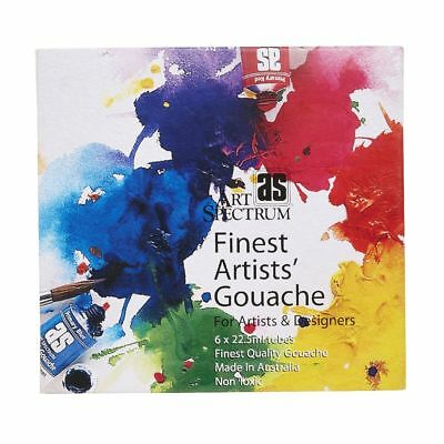 ART SPECTRUM Artists' Gouache 6 X 22.5ml Tubes