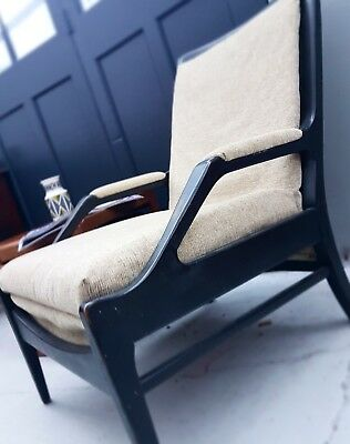 Stunning Mid century Vintage Armchair Danish  Influence Courier Possible