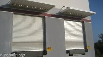 DuroSTEEL JANUS 10' Wide by 12' Tall 2000 Series Commercial Roll-up Door DiRECT