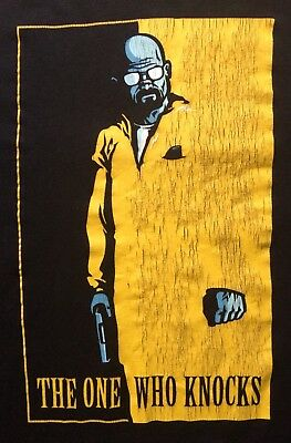 Breaking Bad T-Shirt M The One Who Knocks   Scarface