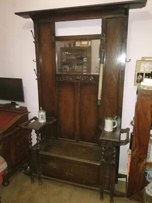 antique hat and coat stand
