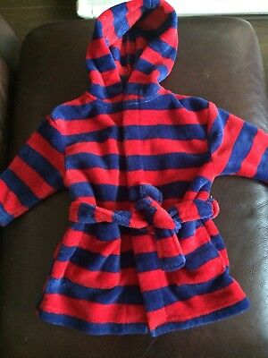 Next Baby Boy Dressing Gown Age 9-12 Months
