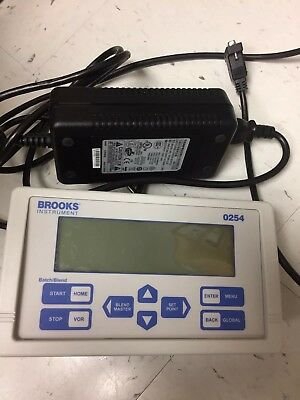 Brook Instruments 0254 4 Channel Power Supply Readout & Set Point Controllers