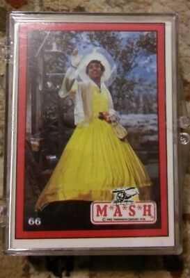 mash tv series trading cards whole set