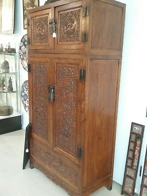 ANTIQUE? COMPOUND CABINET ARMOIRE ...Can be Shipped -Read Description