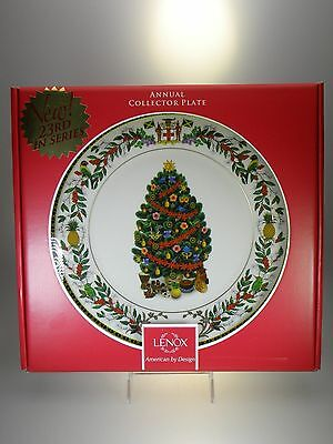 LENOX Annual Collector Plate 2013 Trees Around The World Jamaica