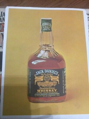 Jack Daniels Green Label Squatting Fake Seal Advertising Promo - Whiskey