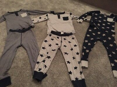 Next Boys Age 3-4 Star Pyjamas
