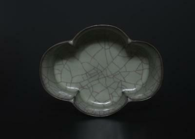 Superb Antique Chinese Porcelain Ruyao Ru Kiln Lotus Flower Brush Washer