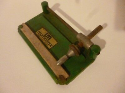 Vintage IM Pointmaster gramophone needle sharpener - used