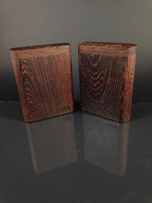 Futo Stash & Lighter - Wenge Dugout  - One Hitter Box - Made in Canada