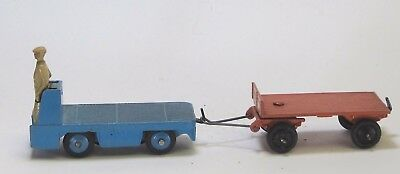Dinky scale vintage lead toy train figures tram pulling trolley O gauge Lionel