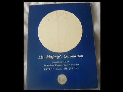 Her Majesty's Coronation -Pictorial Souvenir-National Playing Fields Association