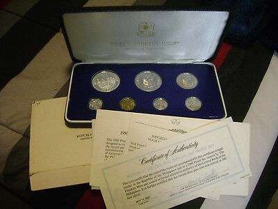 FLASH SALE!! 1980 Philippines Silver Proof Set, Complete COA, box  BEAUTIFUL!