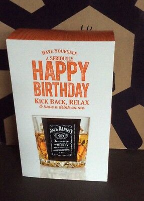 Jack Daniel bottle mini coffret happy birthday