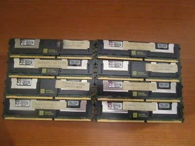 32GB (8 x 4GB)RAM DDR2 2RX4 PC2-5300F RAM Kingston für SERVER