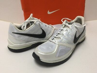 $85 Nike 344952-101 Womens Zoom Quick Sister+ White Black Grey Size 11 CLEARANCE