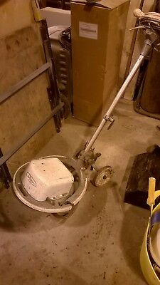 industrial rotary floor scrubber polisher buffer checked and its working 240v