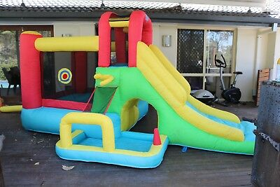 Action Air Kids Jumping Castle and Air Blower