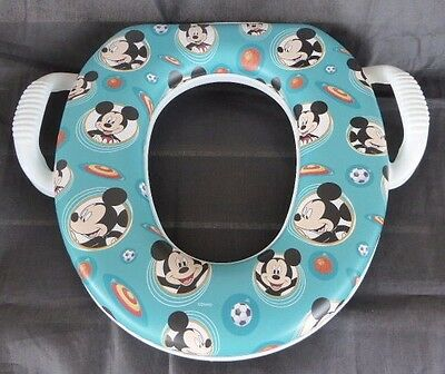 Vintage GINSEY Soft Potty Seat Toilet Training DISNEY MICKEY MOUSE - Made in USA