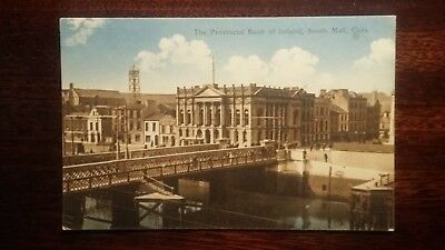 The Provincial Bank of Ireland, South Mall, Cork  - postcard