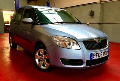 Skoda 1.4i Roomster LOW MILEAGE Under 36,000